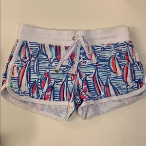 Lilly Pulitzer Printed Knit Shorts- Size XS